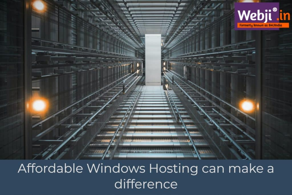 Affordable Windows Hosting can make a difference