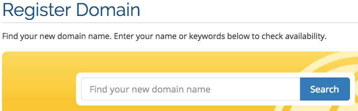 Domain Name Registration India