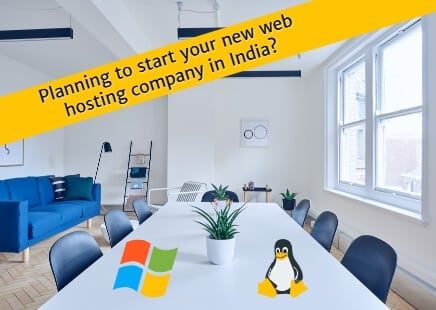 starting hosting company in India