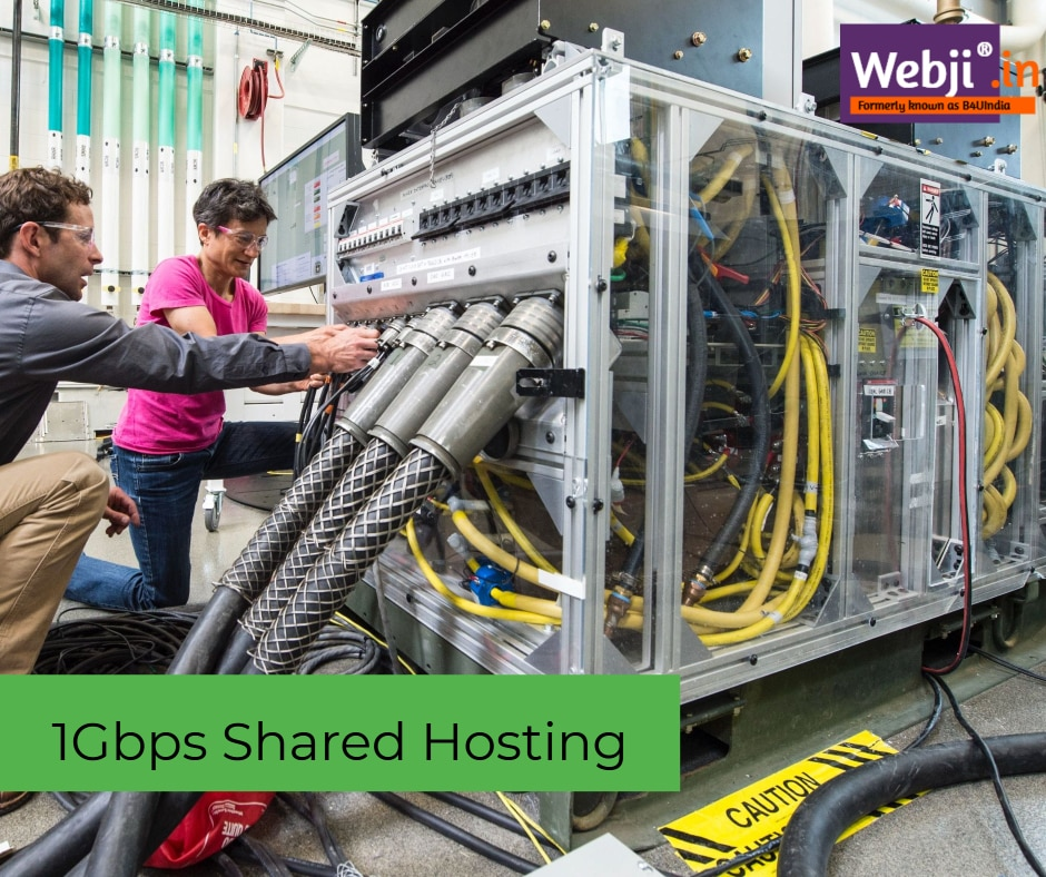 1Gbps Shared Hosting